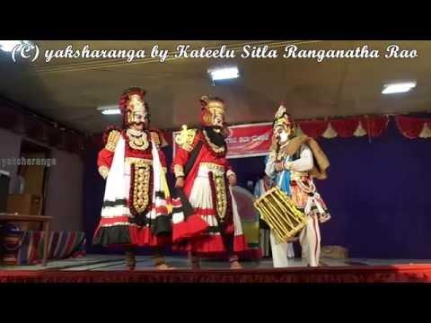 ಕೃಷ್ಣಾರ್ಜುನ ಪ್ರಸಂಗದ ದಾರುಕನಾಗಿ ಮವ್ವಾರು (In Krishnarjuna Mavvaru as Daruka)