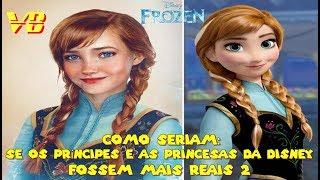 Como seriam: Se os Príncipes e as Princesas da Disney fossem mais Reais 2