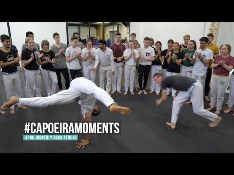 Capoeira Moments. Monthly Roda Of #TRC4C April