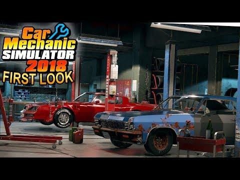 Car Mechanic Simulator 2018 - First Look! - Simul8