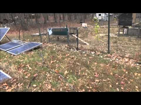Wiring Up Off Grid Tiny House Solar Panels And Battery Bank N18