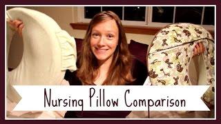 Nursing Pillow Comparison Boppy Vs My Brest Friend