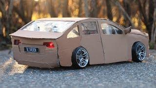 Cardboard car DIY | RC Drifting