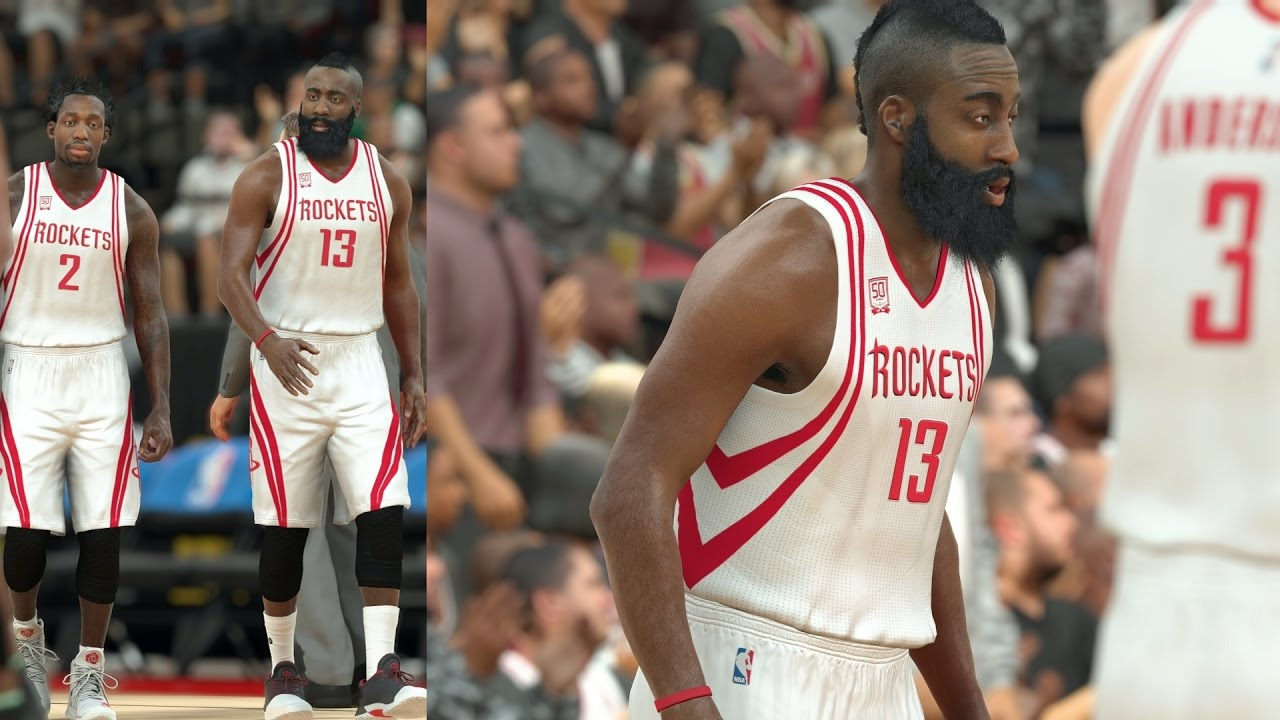 nba 2k17 play now rockets james harden poster ps4 pro 4k