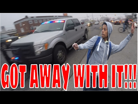 RIDEOUT GONE WRONG!! THROWING ROCKS AT TRUCKS!!