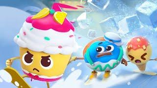 *新着* すべりたいドーナツ | 赤ちゃんが喜ぶアニメ | 動画 | ベビーバス| BabyBus