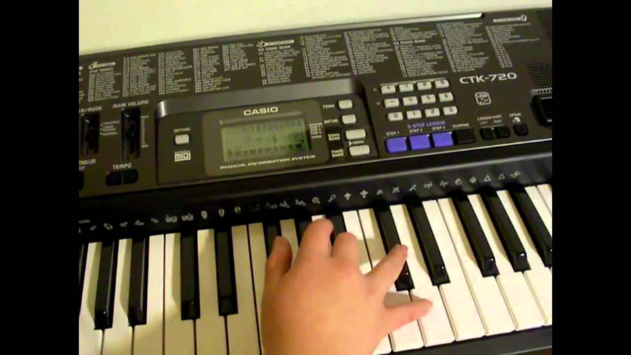 Casio ctk 710 usb midi drivers for windows 7.