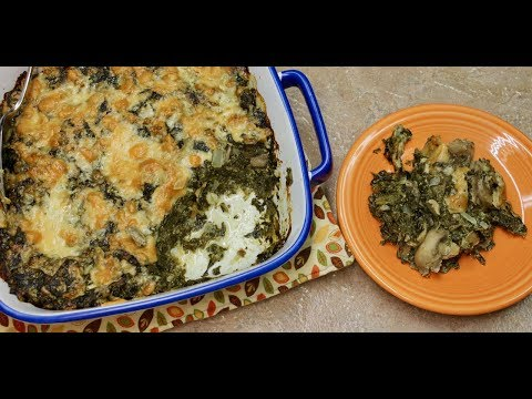 Spinach Casserole with Michael's Home Cooking