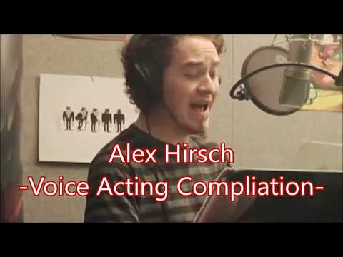 Alex Hirsch -Voice Acting Compliation-