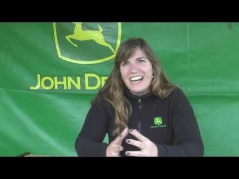 Wendy Kelly de John Deere en la Expo Rural de Chivilcoy 2017