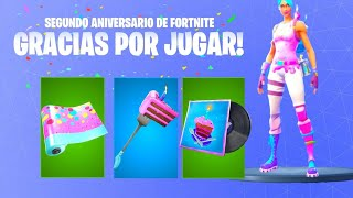 COMPLETING FORTNITE'S NEW FREE BIRTHDAY CHALLENGES #Fortnite #fortnitebattleroyale #Ev