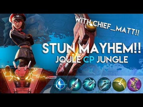 Vainglory Gameplay - Episode 192: STUN MAYHEM!! Joule |CP| Jungle Gameplay |1.16|