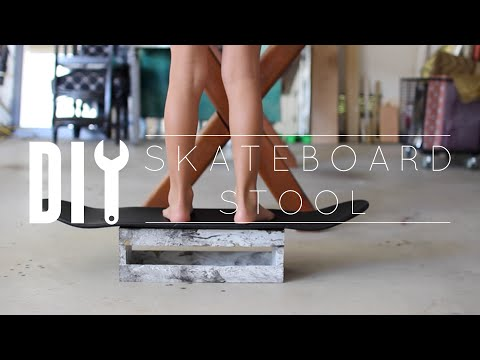DIY Skateboard Stool
