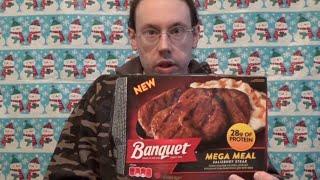 Banquet Salisbury Steak Mega Meal Review