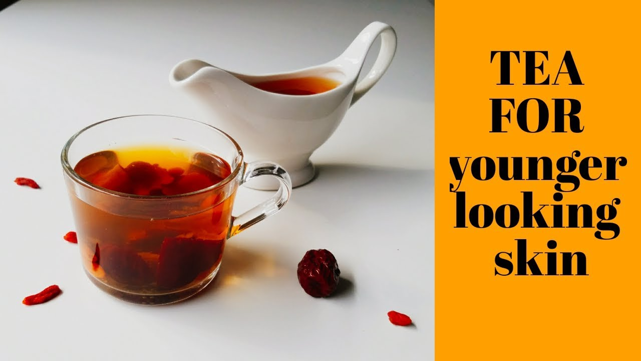 How To Get Wrinkle Free Skin Red Dates Tea Goji Berry Tea Healthy
