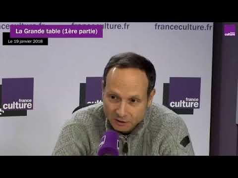 """Frédéric Lordon, """"La grande table"""", France Culture, 19 janvier 2018"""