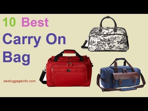 Best Carry On Bag | Ten Best Carry On Travel Bags Reviews For Sale.