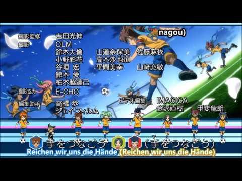 MGP Inazuma Eleven GO Chrono Stone Ending 1-4