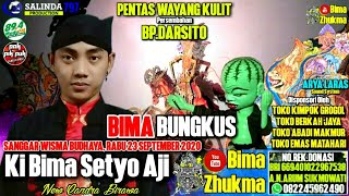 LIVE Wayang Kulit 🔴 KI BIMA SETYO AJI - BIMA BUNGKUS