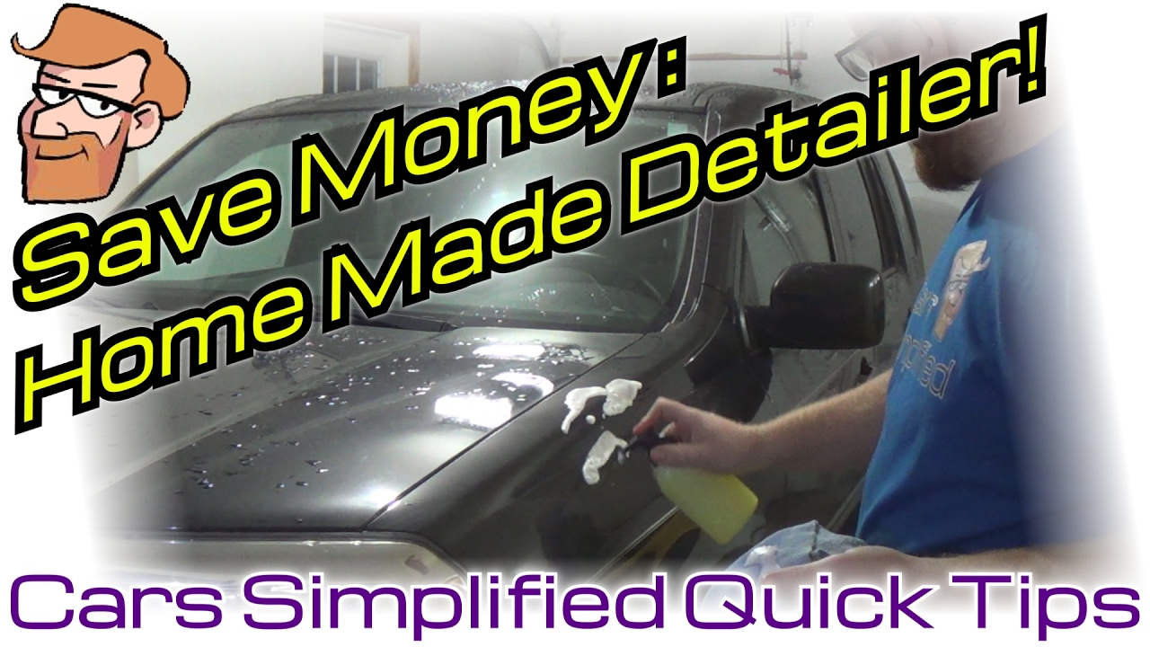 How to make your own detailer spray cars simplified quick tips how to make your own detailer spray cars simplified quick tips solutioingenieria