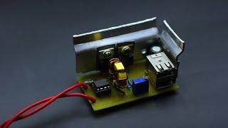 Преобразователь 3,7-5V для POWER BANK-a
