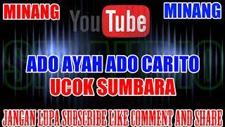 Karaoke MINANG KN7000 | Ado Ayah Ado Carito - Ucok Sumbara HD