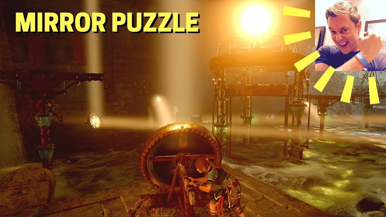 Shadow Of The Tomb Raider Hidden City Challenge Tomb Walkthrough Mirror Puzzle Temple Of The Sun Youtube