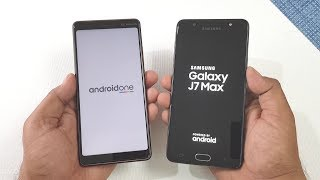 Nokia 7 Plus vs Samsung J7 Max Speed Test | Which is Faster