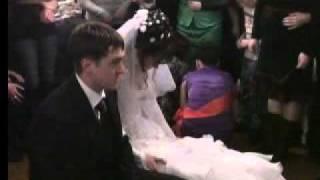 Свадьба моей любимой подруги!!!снимается фата!!!