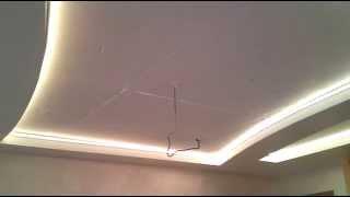 Светодиодная подсветка натяжного потолка.(Подсветка натяжных потолков. Выполним ваш заказ www.svetled.kiev.ua Наилучший вариант для качественной подсветки..., 2015-11-02T23:05:28.000Z)