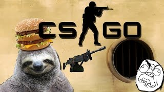 CS GO Funny Moments # 4 Sloth Mac Negev