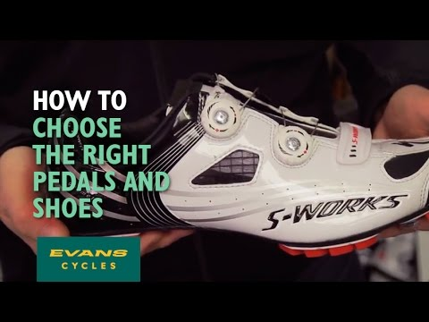 8f20ba0cd How to choose the right bike pedals and cycling shoes - YouTube