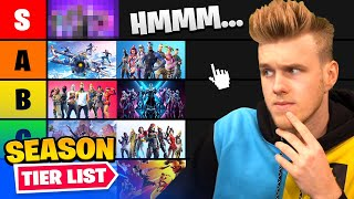 I Ranked *EVERY* Fortnite Season!