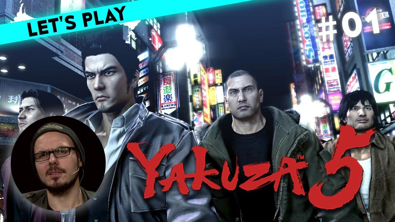 1/4] Let\'s Play Yakuza 5 mit Gregor | Weihnachtsstimmung in ...