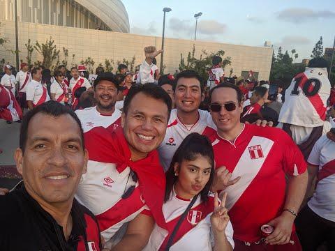 """""""Perú vs Brasil: La Revancha"""" Los Angeles, CA (Peruanos en el Mundo)"""