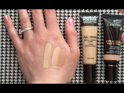 Make Up For Ever Full Cover Concealer Vs Lanc 244 Me