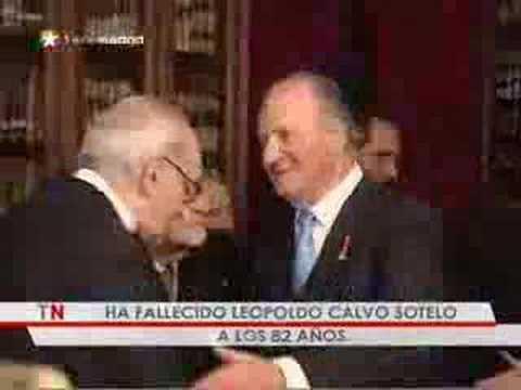 Muere el ex presidente del Gobierno Leopoldo Calvo Sotelo