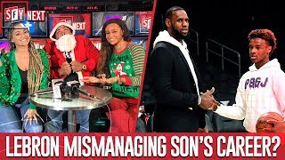 Is LeBron mismanaging his son's career?   SFY NEXT