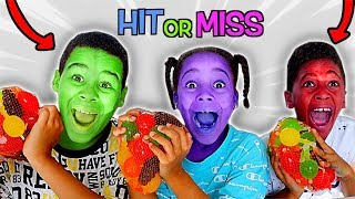 HIT or MISS TikTok Challenge | FamousTubeKIDS