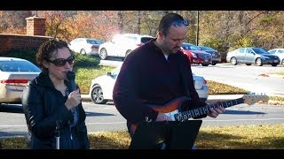 Matt Smith and Debby Greene at the Sunday Howard County Farmers' Market - November 10, 2013