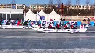 VL.ru - Приморцы взяли золото на первом чемпионате мира по гребле на ледовом «Драконе»