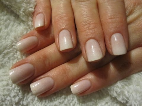 Easy Wedding Sponge French Manicure