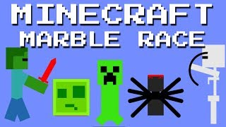 24 + 1 Marble race special : Minecraft Race