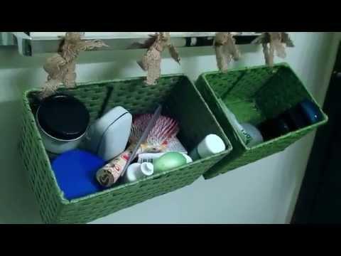 Pinterest Designs... Bathroom Storage Baskets
