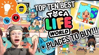 Toca Life World - Top 10 best places TO BUY!!!