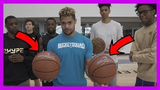SUPER HEAVY BASKETBALL KNOCKOUT CHALLENGE #2HYPE FT. NBA STAR DE