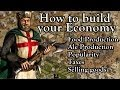 Stronghold Crusader - How to build your Economy | Tutorial w/ .:NightMare:. [1080p/HD]