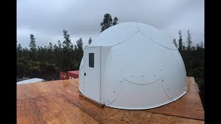 Off Grid Dome Cabin Project: Building The Dome