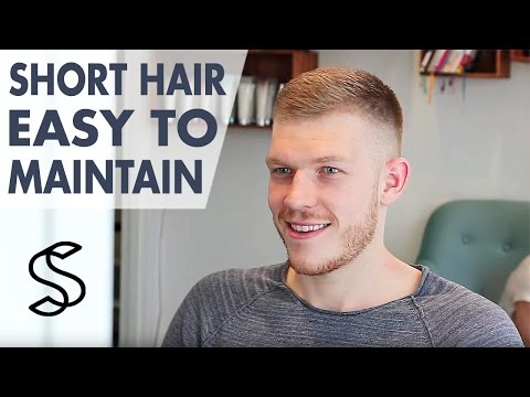 Men's short Hair Inspiration ★ Easy to Maintain Hairstyle for Men ★ Slikhaar TV