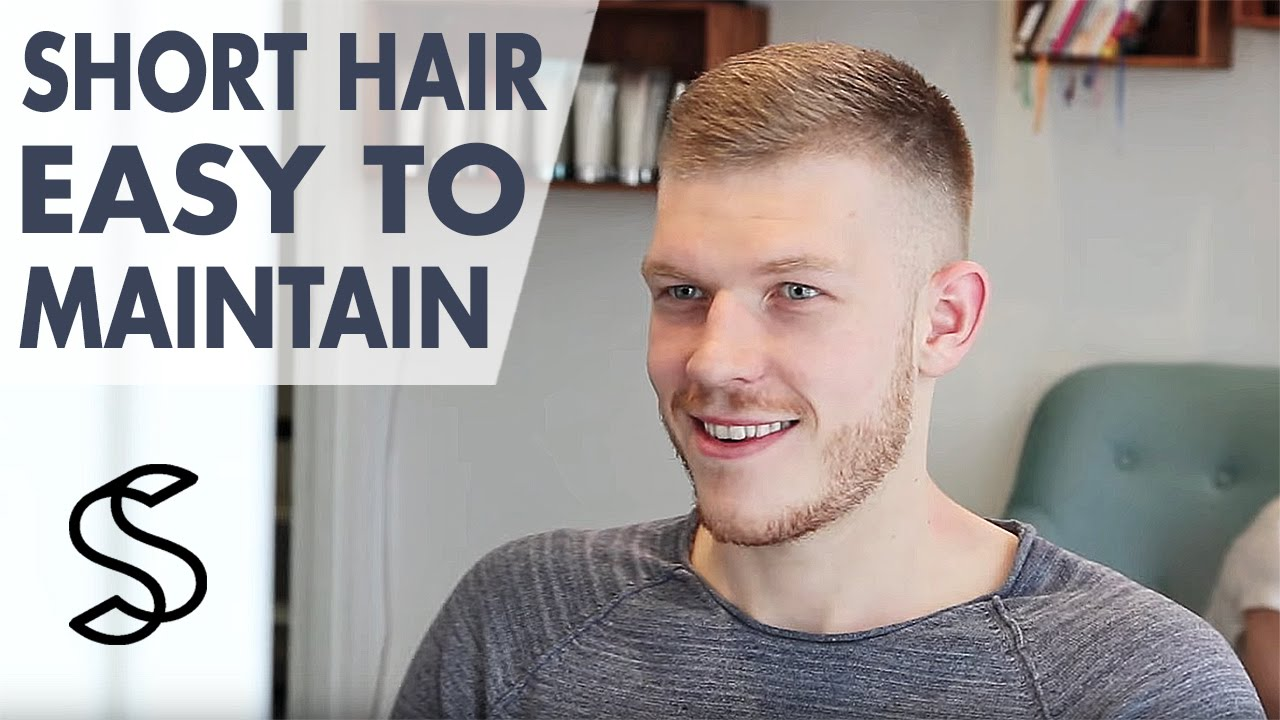 Men S Short Hair Inspiration Easy To Maintain Hairstyle For Men Slikhaar Tv Youtube